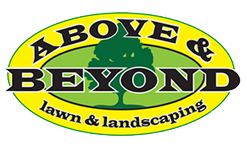 Above & Beyond Lawn & Landscaping Logo