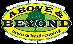 Above & Beyond Lawn & Landscaping Logo