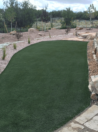 <p>Eliminate mowing, watering, and maintenance with our quality artificial grass for your landscape.</p>
